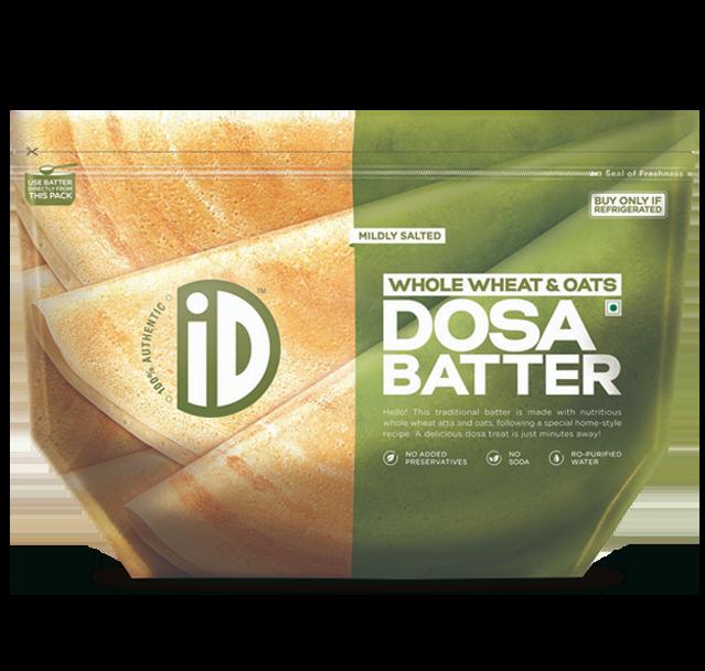 ID Fresh Food - Natural Whole Wheat & Oats Dosa Batter