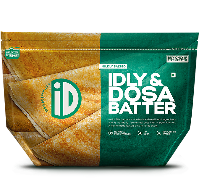 Idli Dosa Batter - iD Fresh Food
