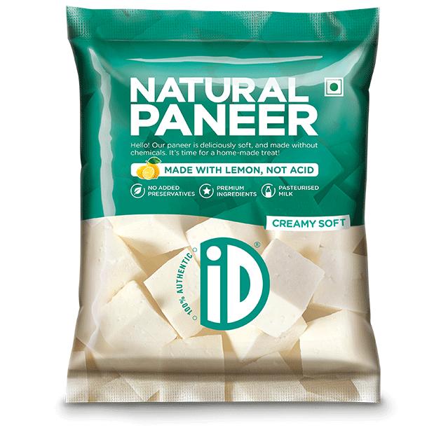 Natural Paneer - iD Fresh Food