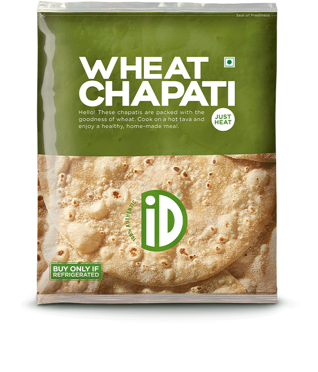 Whole Wheat Chapati - iD Fresh Food