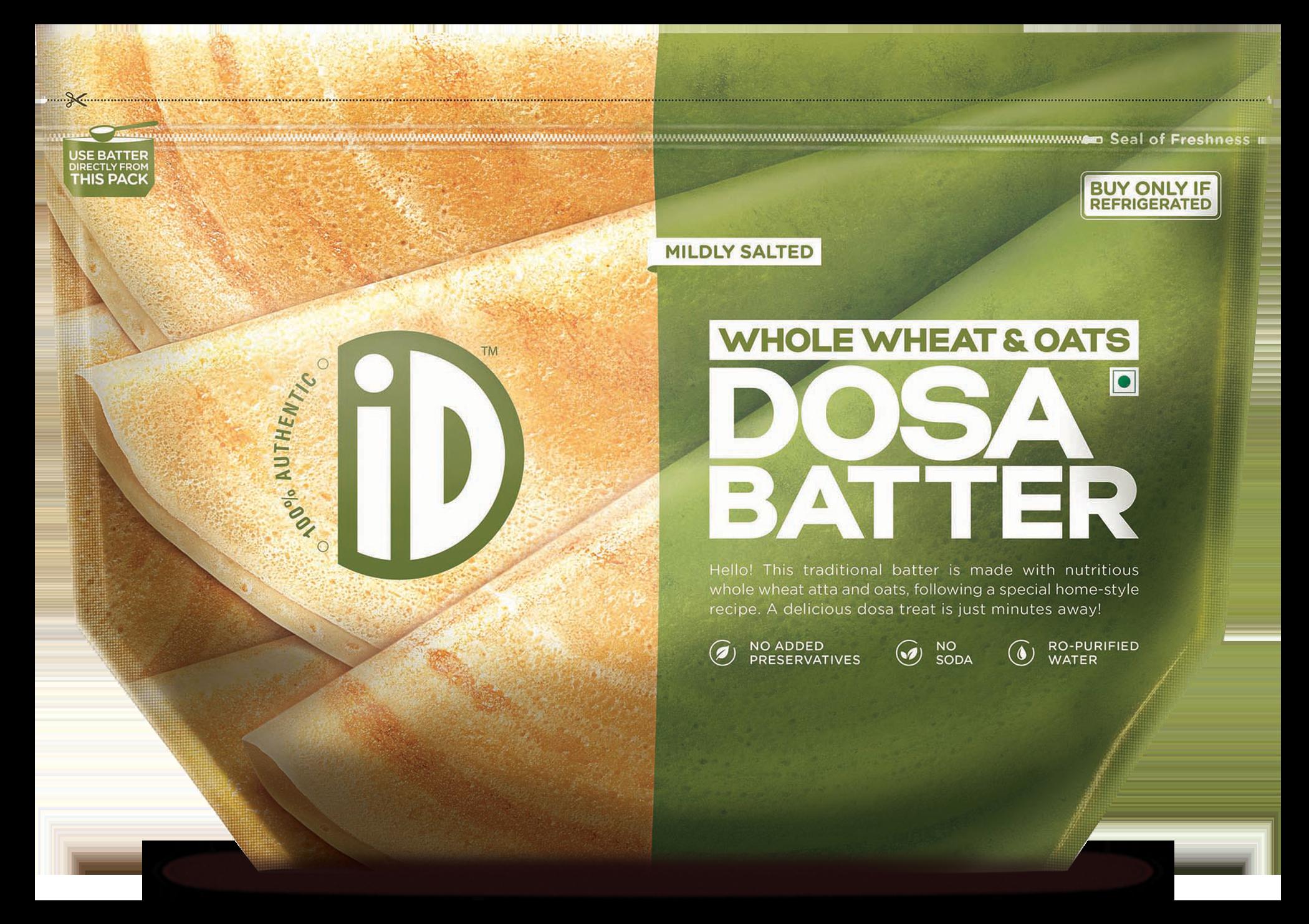 iD Whole Wheat & Oats Dosa batter