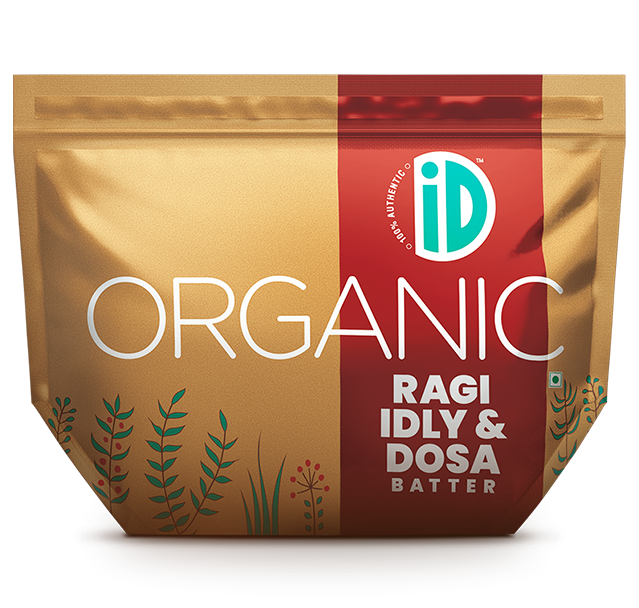 ID Fresh Food - Organic Ragi Idly & Dosa Batter