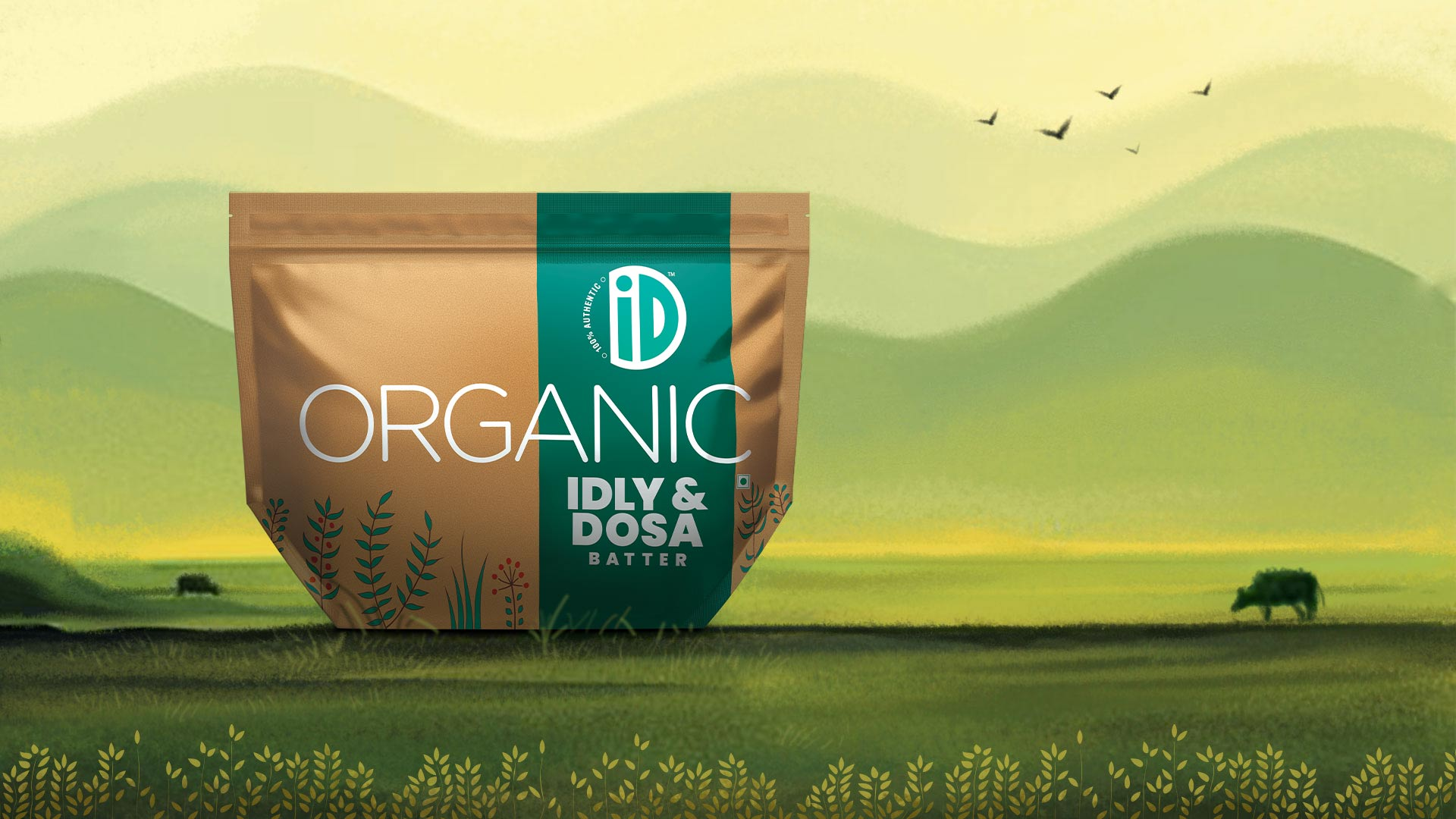 Organic Idli Dosa Batter - iD Fresh Food