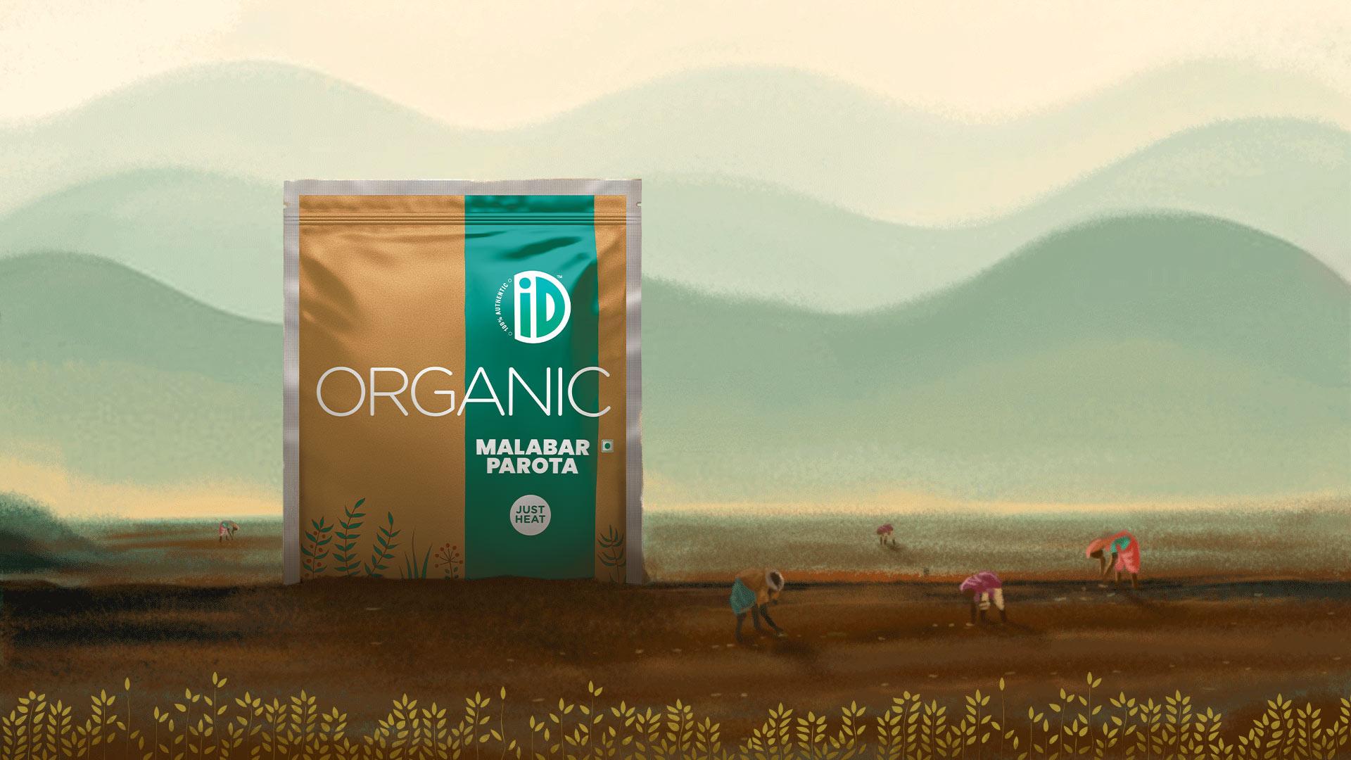 Organic Malabar Parota - iD Fresh Food