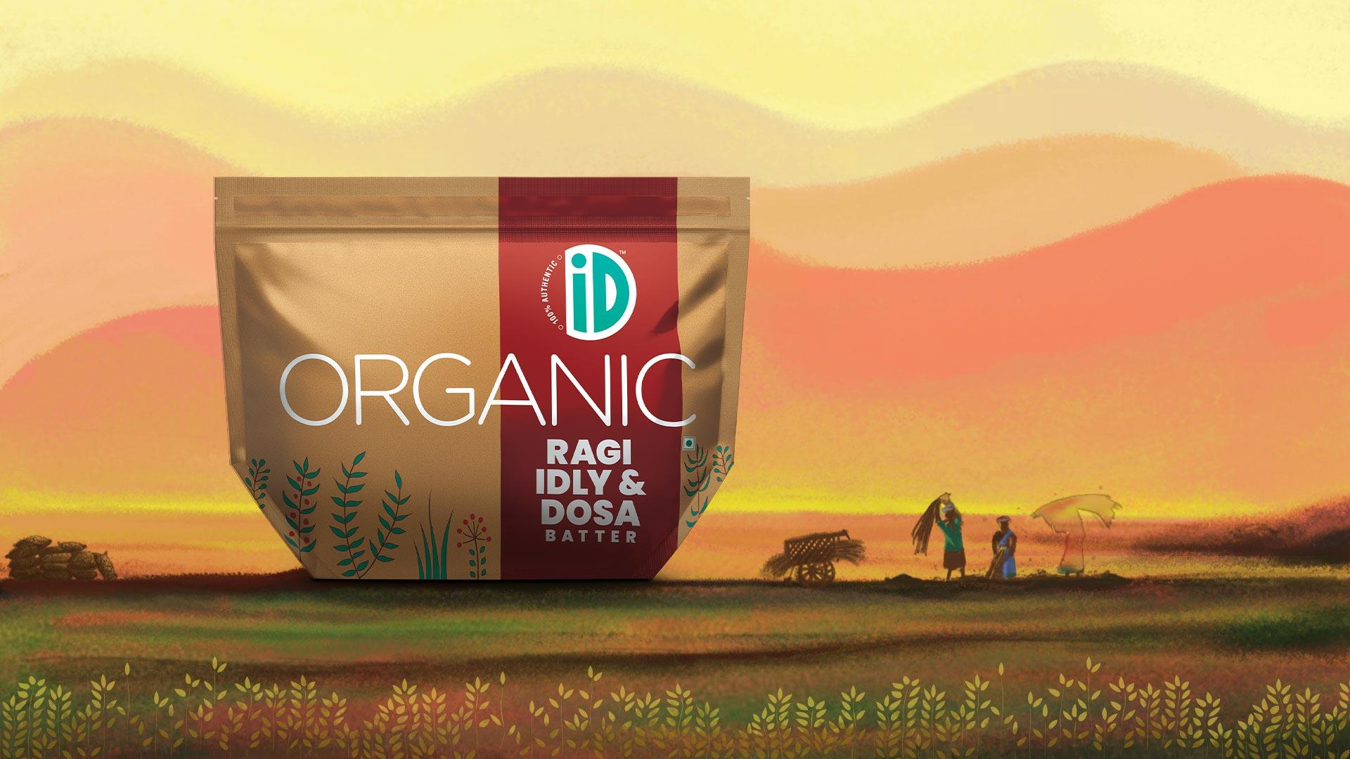 Organic Ragi Idly & Dosa - iD Fresh Food