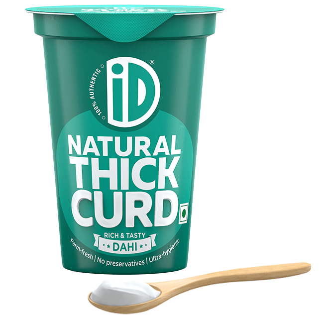 Natural Thick Curd - iD Fresh Food