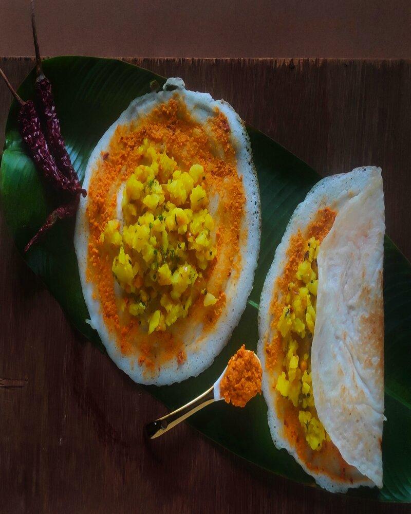 dosa masala recipe in hindi, id batter, id dosa
