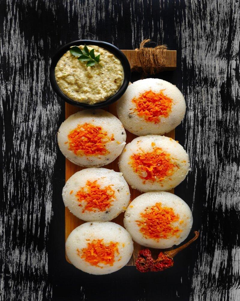 Idli Nutritional Value, idli recipe. idli calories