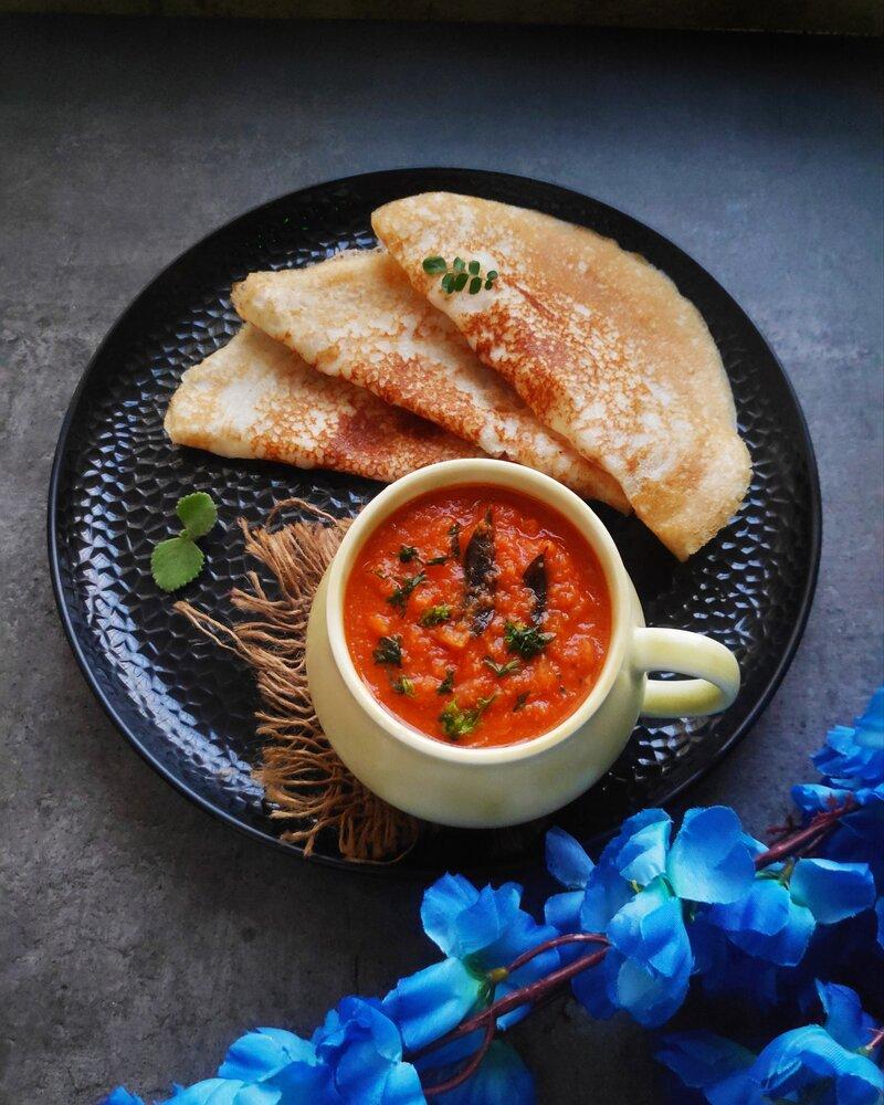 Dosa side dish recipe, dosa side dish, dosa curry recipe
